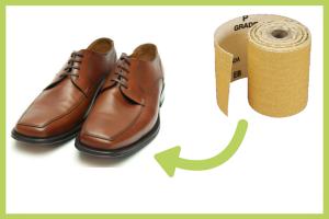 Lopen en traplopen - Veilig lopen met geschuurde schoenen