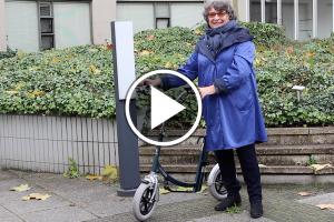 Loopfiets volwassenen City van Van Raam getest door Dineke en Anne-Wil