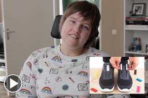 Magnetische schoenvetersluiting Zubits getest door Wendy