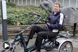Driewieler Easy Rider van Van Raam getest door Irene