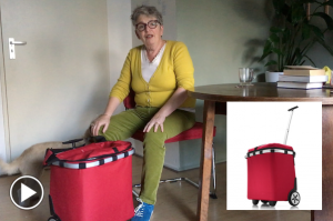 Boodschappentrolley Reisenthel Carrycruiser getest door Marcelle