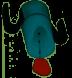 De gaatjes voor slokdosering van de drinkbeker met slokdosering RiJe Cup