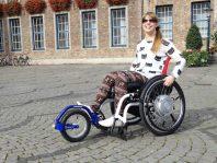 Aankoppelbaar rolstoelwiel Adventus
