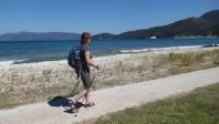 Nordic walking stokken Leki smart Traveller carbon