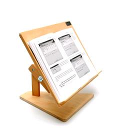 Boekenstandaard in hoogte verstelbaar