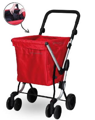Boodschappentrolley 4 wielen Playmarket