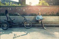 Elektrische driewielfiets Cortes van Huka