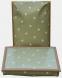 Dienblad met schootkussen MS groen stippen