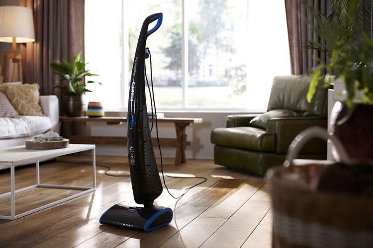 elektrische dweil aquatrio pro philips scouters. Black Bedroom Furniture Sets. Home Design Ideas