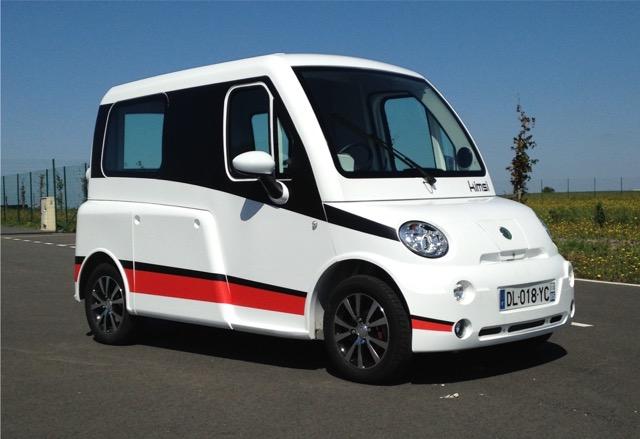 Elektrische 45 km rolstoelauto Kimsi voor