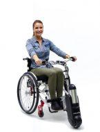 Elektrische handbike rolstoel My Skate van TNS