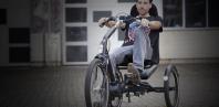 Elektrische driewielfiets Cratos van Huka