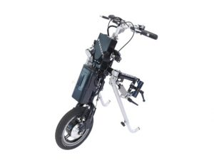 Elektrische handbike rolstoel Lipo Lomo van Stricker klein