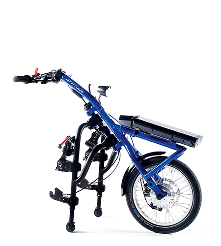 Elektrische handbike rolstoel Quickie Attitude Power van Sunrise Medical product