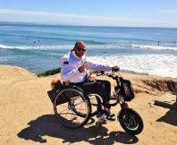 Elektrische handbike rolstoel Triride