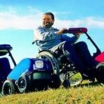 Elektrische rolstoelaandrijving Swiss Trac via RDmobility gebruik