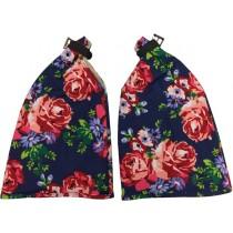 Handwarmers met rozenprint