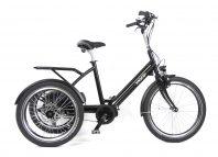 Driewieler Vasco met elektrische ondersteuning van Huka