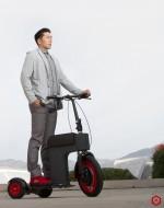 Elektrische trike M Scooter MP van Rood Runner