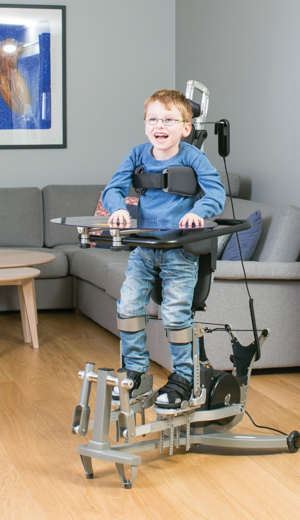 Ondersteuner Innowalk van Made for Movement jongen