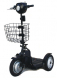 Opvouwbaar scootmobiel EV Rider Stand-N-Ride mandje