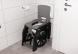 Opvouwbare douchestoel Seatara in gebruik