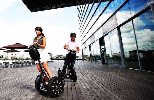 Goede Segway personal transporter - Scouters UL-21