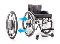Elektrische wielen e-motion van Alber via Invacare