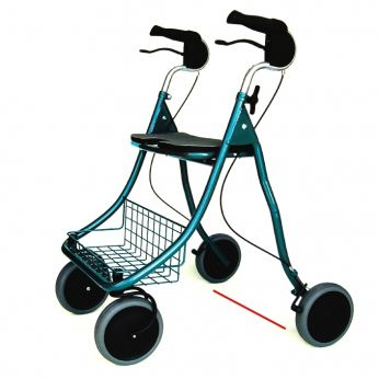 rollator focus af as parkinson van fellowroll blauw