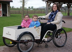 Rolstoelbakfiets Connect Carrier van Roam