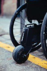 Elektrische rolstoelaandrijving Alber SMOOV One via Invacare