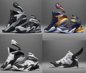 Schoenen Nike LeBron Zoom Soldier 8 FLYEASE kleuren