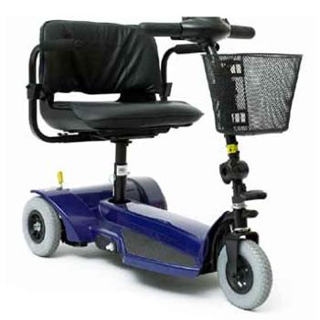 Scootmobiel driewiel GoGo Ultra X