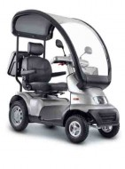 Overdekte scootmobiel Afikim Breeze S3 en S4