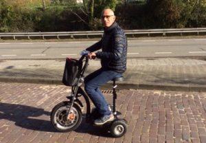 Sjaak en zijn scooter