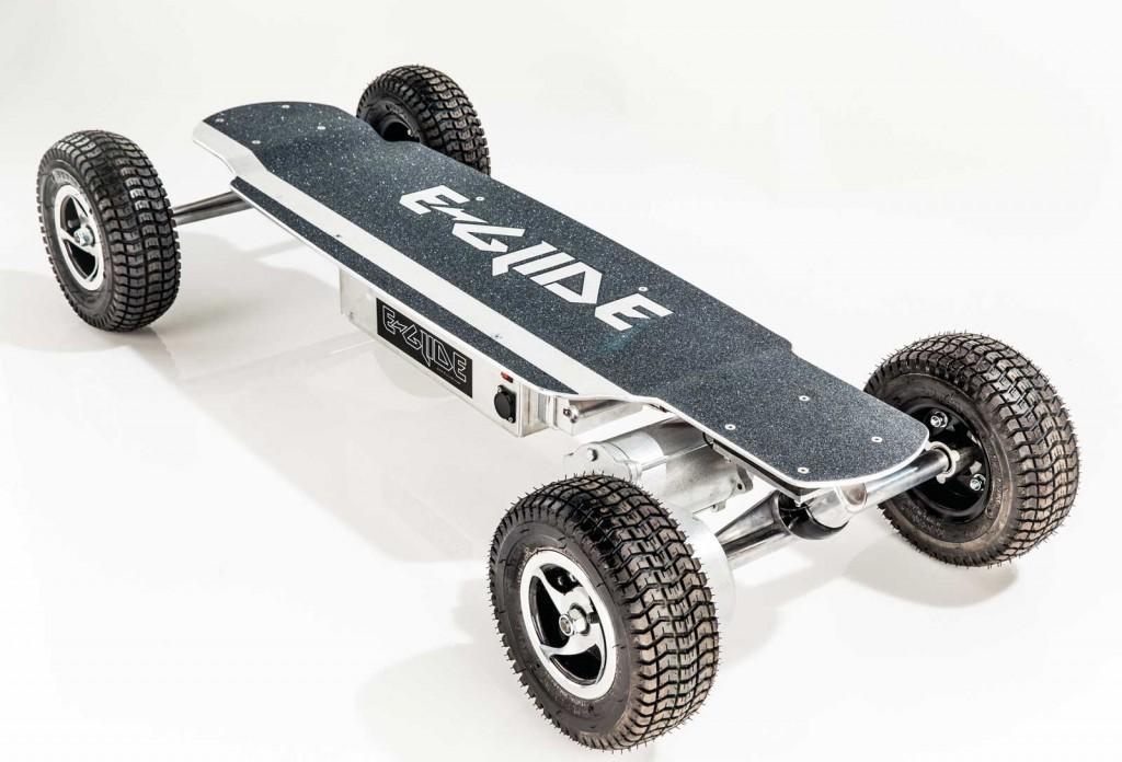 Skateboard scooter E-glide