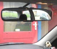 Aangepaste autospiegel
