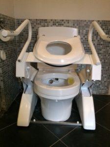 Verhoogd Toilet Vergoeding.Superfris Het Toilet Af Dankzij De Closomat Cpv 301 Met De Douche