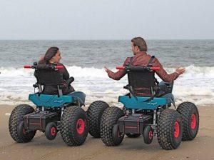 Of kom op 14 mei naar het Scheveningse strand en geef je mening over de nieuwste strandrolstoelen!