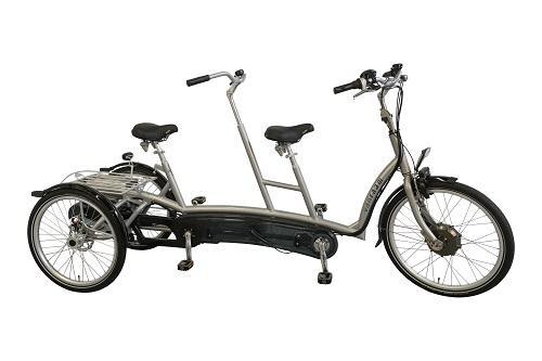 Tandem met 3 wielen Twinny Plus Van Raam