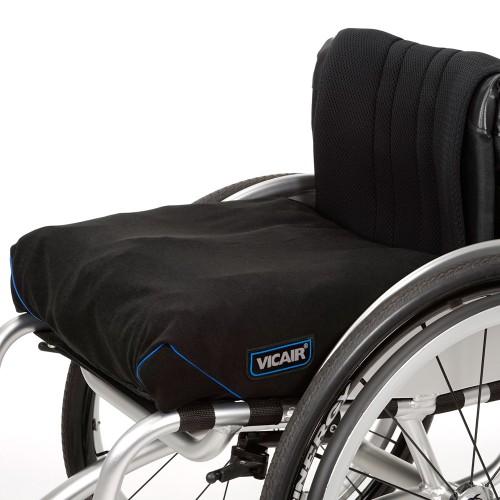 Wasbaar antidecubitus rolstoelkussen Vicair Vector O2