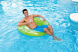 Zwembadstoel Intex gebruik