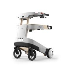 Zorgrobot en rollator ineen LEA